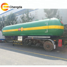 Semi-reboque GLP para transporte de gás de 3 eixos