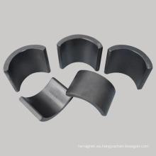 Imanes sinterizados de arco de ferrita para el motor del limpiaparabrisas