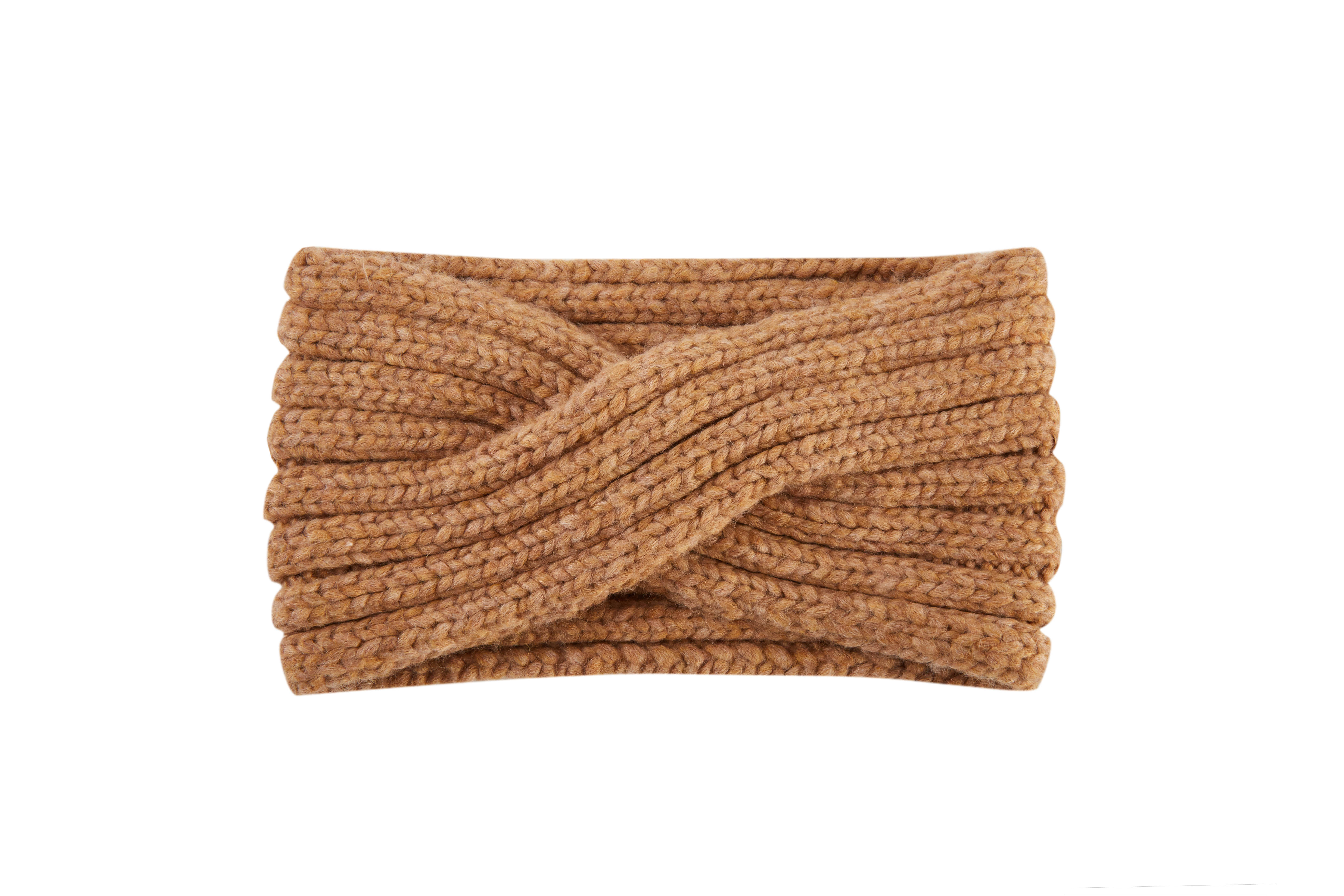Women's Winter Thick Ribbed Knit Circle Loop Infinity Scarf