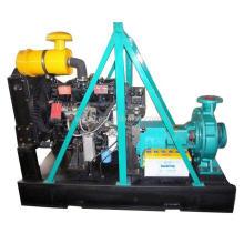 Центробежный насос с дизельным двигателем