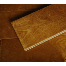 Antique Carbonized & Hand Scraped Oak Multi Layer Engineered Wood Flooring