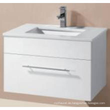Sanitärwaren glänzendes MDF-Wand-Hung-Badezimmer-Kabinett mit Art Basin (UV8023-600-1)
