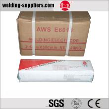 E6013 soldadura de electrodos de acero al carbono