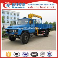 Dongfeng 4ton XCMG camión grúa para la venta