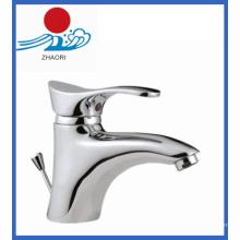 Robinet d'eau de robinet mélangeur de lavabo monocommande (ZR22202)