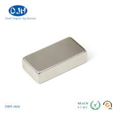 N48 Nonopole Imán de barra de boro de hierro de neodimio para la industria
