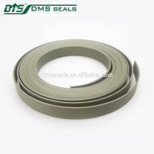 Green PTFE Sealing Guide Tape with Chamfer and Embossing