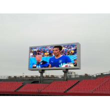 LED-Anzeige im Stadion im Freien
