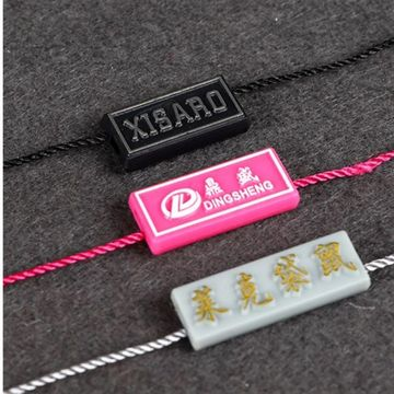 Mode Plastic Hangende String Tag