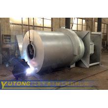 sulfato ferroso de amonio horno del aire caliente de la combustión del carbón