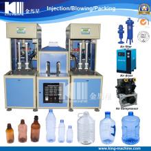 Máquina que sopla de la botella de relleno caliente semi automática para el propósito del jugo