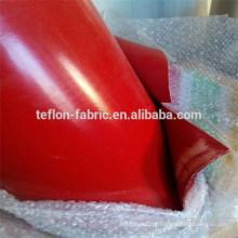 Pano de tecido de fibra de vidro de borracha de silicone de uso industrial, folha de silicone resistente ao calor, fornecedor