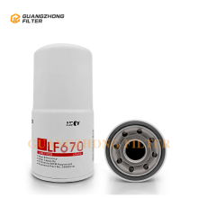 OEM Truck Parts LF670 P551670 Lube Oil Filter