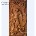 Traditionelle handgefertigte Wandbehang geschnitzte Holzverkleidung Geschnitzte Holzplatten