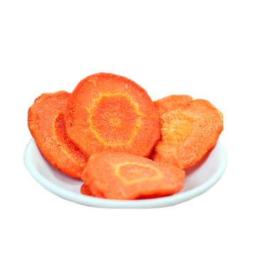 High quality Wholesale dehydrated Dried Carrots Slices