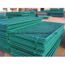 Clôture enduite en plastique de lien de chaîne de PVC pour l'école