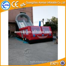 Corrediça deslizante inflável deslizante gigante n slide na venda
