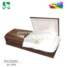 Cercueils intérieurs de JS-A935 style western rose de bonne qualité