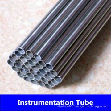 Tuyau d'instrumentation en acier inoxydable de Tp321