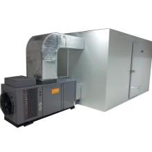 High capacity oregano heat pump dryer dehydrator drying machine
