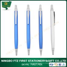 FIRST A003 Выдвижная рекламная металлическая шариковая ручка