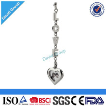 Alibaba Certified Top Supplier Wholesale Custom Promotional Metal Coin Holder Keychain