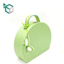 Пользовательские свежий зеленый подарок коробка причудливый чемодан