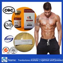Горячие мышечные массы Масло стероидов Инъецируемый Тренболон Ацетат Трен Тус
