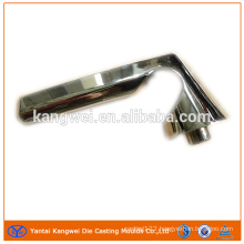 Customized zinc zinc alloy die casting handle with plating