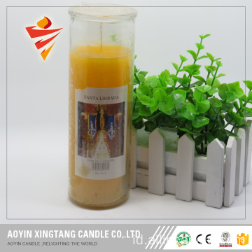 Dekorasi Jar Glass Lilin Hot Sale