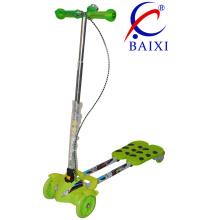 Микро самокат Детский Открытый спортивный самокат три колесика (ВХ-WS003)