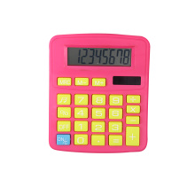 Dual Power 8 Digits Desktop Calculator