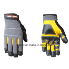 Good Quality Leather Mechanics Working Tool Safe Hand Glove