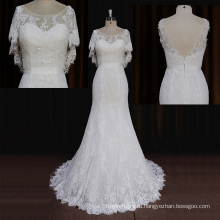 Оптовая 2015 Суд Поезд Русалка Свадебное Платье Египет