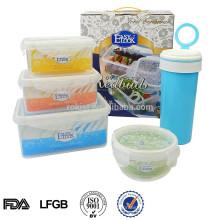 L Shantou logo print food storage container set