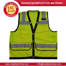 High visibility warning reflective vest