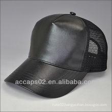 leather snapback blank hat
