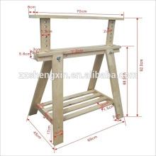 Prateleira de madeira prateleira de computador mesa de trabalho ajustável Desktop Desk Frame