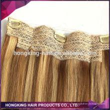 Cheveux humains pas cher prix en gros halo extension de cheveux