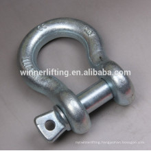 Cheap Galvanized Alloy Steel Anchor Bow Shackle G209