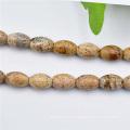 Оптовые овал вырежьте оливкового Gemstone Бусины кабошон
