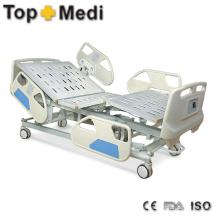 Topmedi Medical Pedal Control System Cama de hospital de acero eléctrico