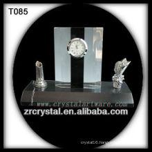 Wonderful K9 Crystal Clock T085