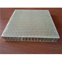 Painéis de favo de mel de fibra reforçada