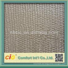 Neueste Mode Metallic Emboss Möbel Sofa PVC Leder