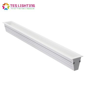 luces de arandela de pared led de neón lineal