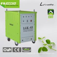 Compress Air Plasma Cutter pour la coupe professionnelle (LGK-40/63/100/160)