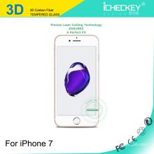 Icheckey top qualité flexible 0.2mm ultra-mince en verre trempé pour iphone 6 / 6plus / 7 protecteur d'écran en verre trempé
