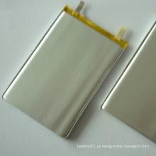 Bateria Li-ion de 3.7V bateria Li-Polymer 4000mAh 606090 para bancos de energia