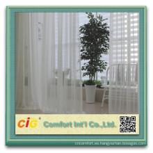 Mejor-venta tela de gasa para la cortina con retardante de fuego
